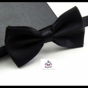 🌺2 Men's Black Bow Ties
